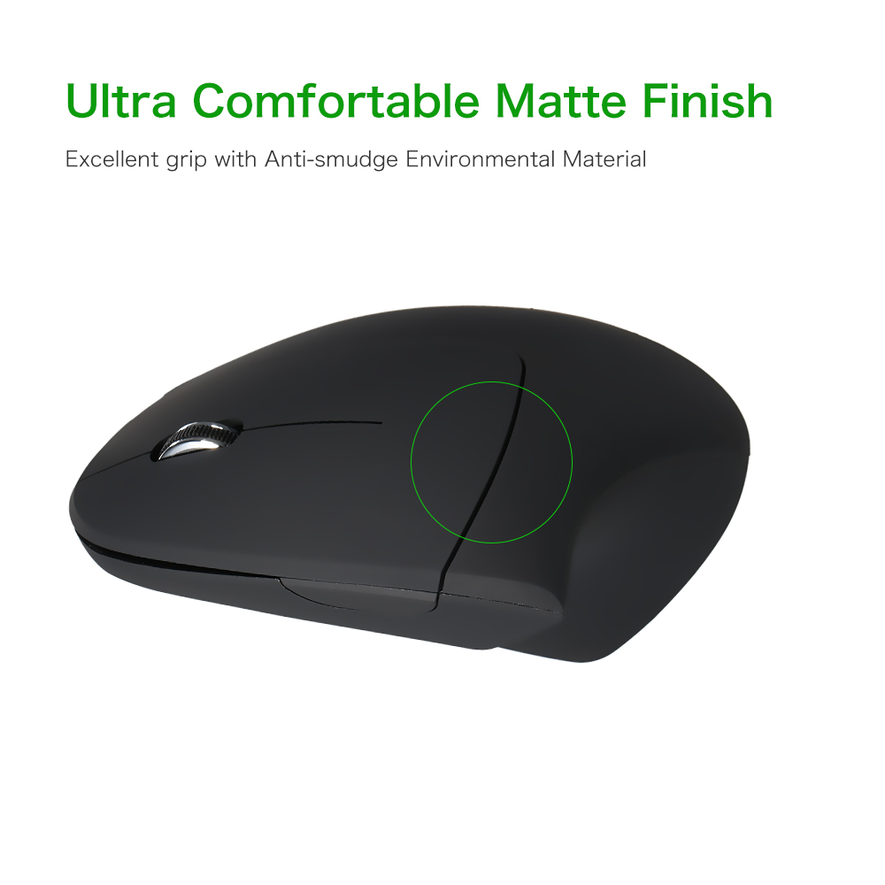 2.4G Vertical Wireless Mouse USB Ergonomic Optical Mouse High Precision Adjustable 1600 DPI 5 Buttons Mouse Wireless For PC