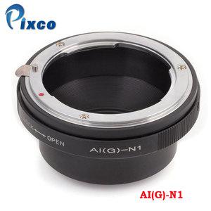 Image 1 - Pixco Ni(G) N1 Built In Iris Control Lens Adapter Suit For Nikon F Mount G Lens to Nikon 1 Camera