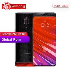 Rom global lenovo z5 pro gt snapdragon 855 smartphone 8 gb ram 128 gb rom 6.39 cameras cameras em-tela câmeras de impressão digital android 24mp