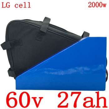 60V 1500W 2000W электрический скутер батарея 60v 27ah Электрический велосипед батарея 60V 30AH литий-ионный аккумулятор использовать LG сотовый + 5A зарядн...