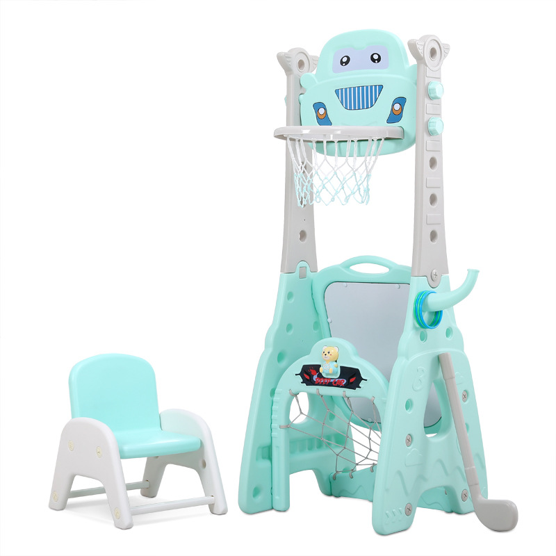 CHILD Basketball Stand Adjustable Indoor Baby Toy Ball 1-6 Years Old Boy Household Basketball stand kids game
