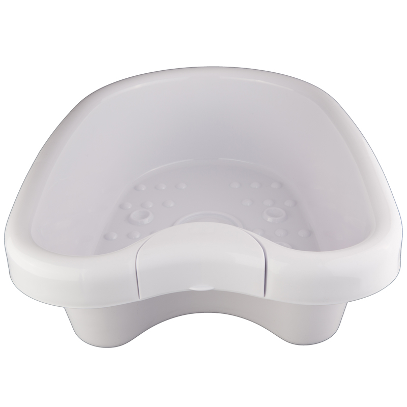 2pcs/lot Plastic foot basin for ion cleanse detox machine thickness ABS big foot tub