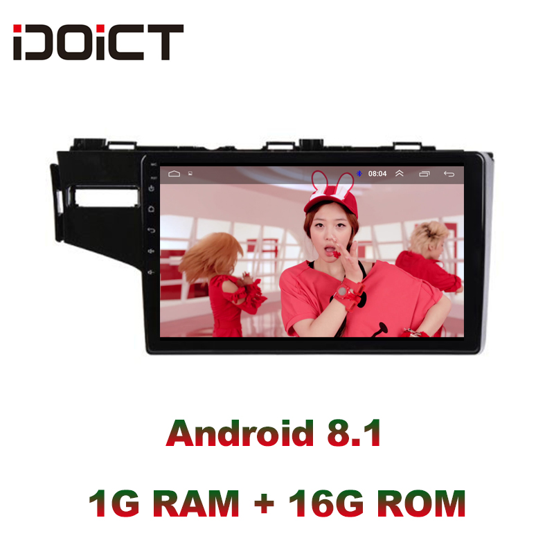 IDOICT <font><b>Android</b></font> 8.1 Car DVD Player GPS Navigation Multimedia For <font><b>Honda</b></font> <font><b>Fit</b></font> Jazz Radio 2014 <font><b>2015</b></font> 2016 2017 car stereo image