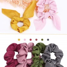 Get more info on the YBLNTEK Hair Scrunchies Adjustable Hair Ring Girl Elastic Hair Band Chiffon Bow Scrunchie Scarf Ponytail Holder Hair Accessories
