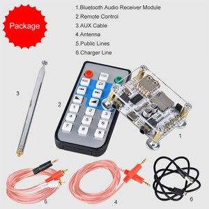 Image 5 - Módulo adaptador de Audio y receptor Bluetooth 5,0, transmisor de altavoz con cable, compatible con tarjeta TF de disco U, Control de aplicación AUX de 3,5mm
