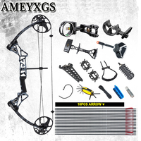 M1 Archery Compound Bow 19 70 lbs IBO 320FPS Hunting Shooting Outdoor sports Game Bow And Arrow Accessories