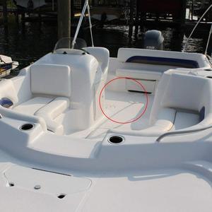 """Image 5 - 4 """"6"""" 8 """"ABS cubierta para grifo redondo tornillo apretado hacia fuera blanco anticorrosivo acceso cubierta placa para RV barco yate accesorio marino"""