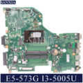 KEFU DA0ZRTMB6D0 Laptop motherboard for Acer E5-573G original mainboard I3-5005U