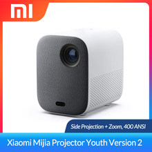 Xiaomi Mijia Projector Youth Edition 2 Mini DLP Projector With Zoom Full HD 1080P Mini Android Wifi Home Theater Beamer TV