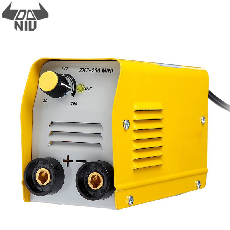 DANIU ZX7 200 Handheld 200A Mini Electric Welding Machine IGBT DC Inverter ARC MMA Stick Welders for Welding Various Materials|Soldering Stations| |  - title=
