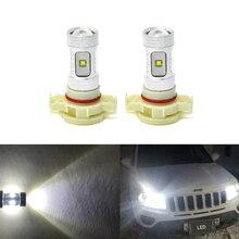 Для Jeep Compass- 2x CANBus белый PSX24W 2504 3157 3157K 3157-SCK светодиодный проектор передний дневной ходовой Светильник лампы