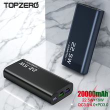 Power Bank 20000mAh Quick Charge 5A Fast Charger USB Cable Portable PowerBank 20000mah pd type for iPhone 12 11 External Battery
