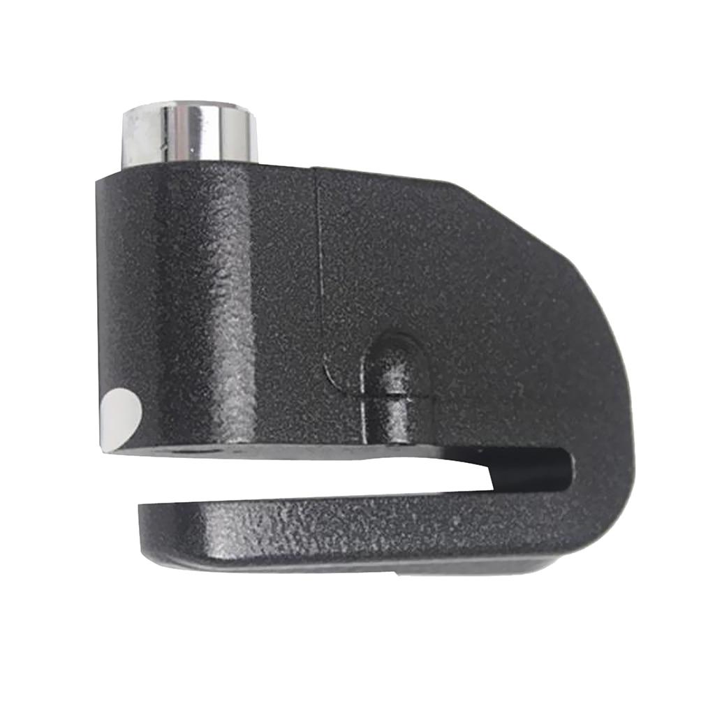 Black Protection Alarm Disk Lock Brake Wheel Disclock Keys For Motorcycle Bike