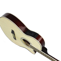 40 Inch Acoustic Guitar with Pick up Equipment Electric Guitar Wooden Guitarra 6 Strings Guitar Pick up EQ AGT28