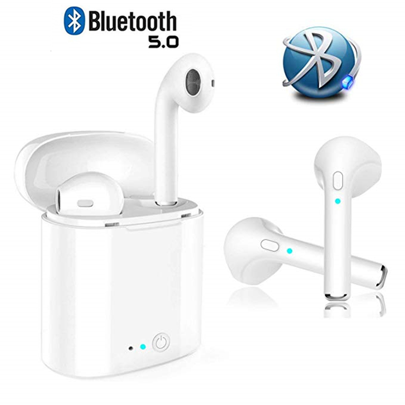 I7S TWS Bluetooth Earphones Wireless Earbuds For IPhone Samsung Huawei Xiaomi Android Ear Pods Stereophone