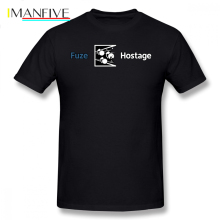 Rainbow Six T Shirt Don Fuze The Hostage T-Shirt Cotton Graphic Tee Short Sleeves 4xl Casual Male Cute Tshirt