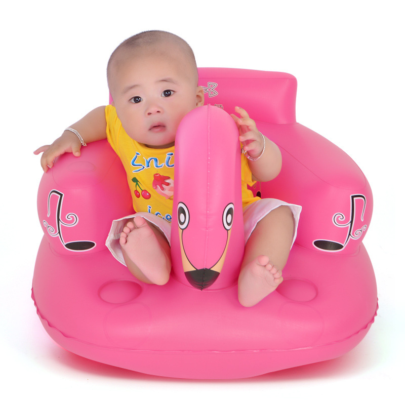 Baby Kid Children Inflatable Bathroom Sofa Chair Seat Learn Portable Multifunctional Chair For Kids  Baby Sofa  Baby Furniture