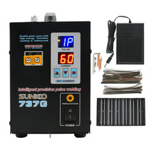 Battery-Spot-Welding-Machine Pulse-Wave Lithium-Battery Sunkko 737g High-Energy Dual