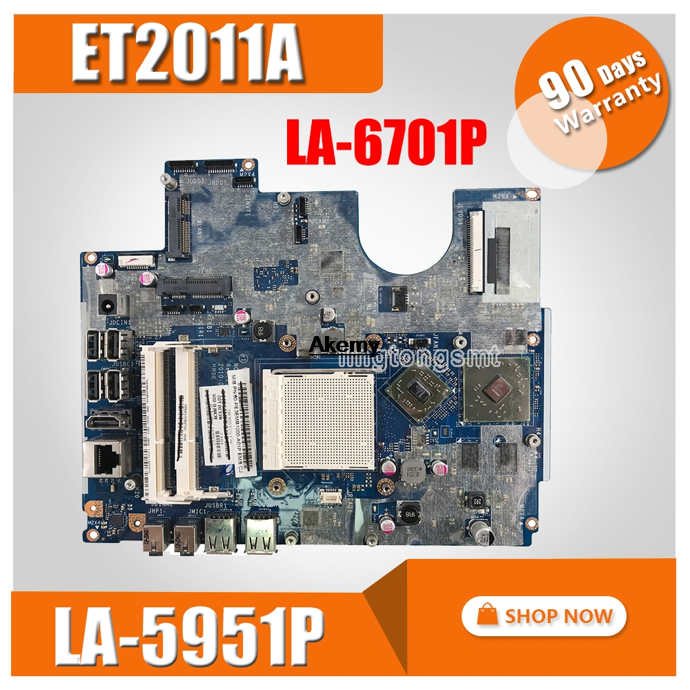 For ASUS AIO ET2011 ET2011A ET2011AGK ET2011AGT Motherboard NCL30 LA-5951P LA-6701P 100% Test Good