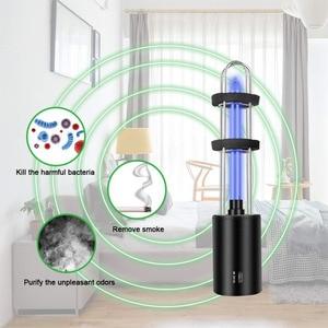 Image 2 - قابلة للشحن الأشعة فوق البنفسجية معقم بالأشعة فوق البنفسجية أنبوب ضوء لمبة تطهير مبيد للجراثيم مصباح الأوزون معقم العث