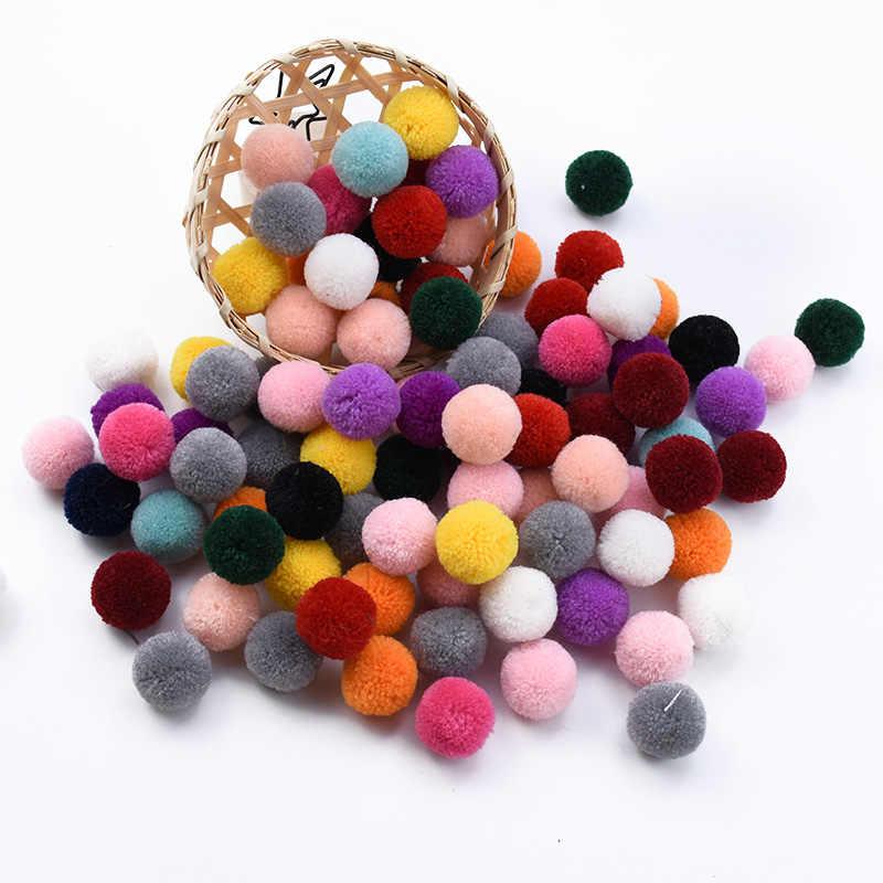 20 Uds. De pompón de seda barato, accesorios de decoración del hogar, caja de dulces de regalo diy, Caja de Regalos, artesanías de Navidad, accesorios de ropa con tapa
