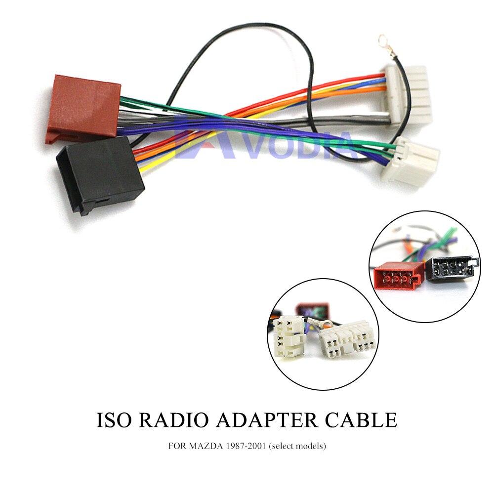 4 x Adaptador de cable para mazda modelos antiguos adaptador extensión