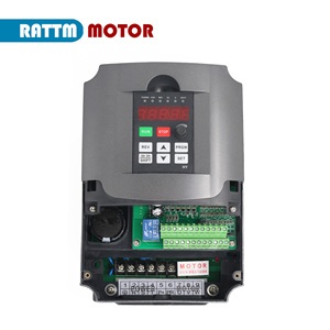 Image 5 - Variador de frecuencia CNC 4KW, inversor VFD 4HP 18A VSD 220V o 380V, control de velocidad del motor para fresado CNC