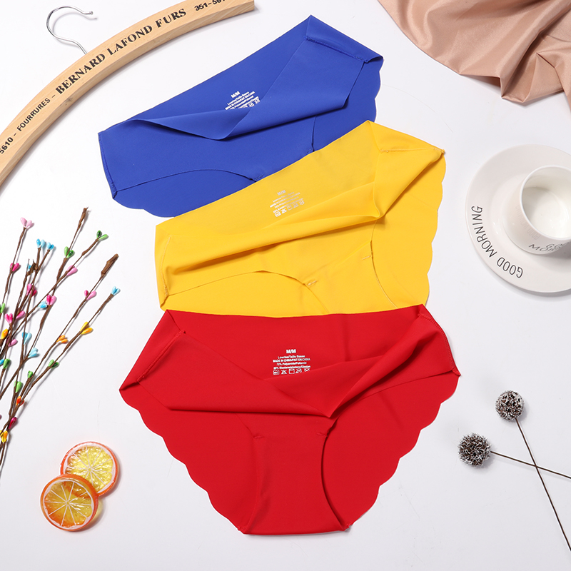 Fashion Seamless Panties Women Underwear Female Comfort Intimates Women Low-Rise Briefs Lingerie Panties DropShip 1/3 Pieces