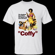 Coffy, Pam Grier, Retro, 1970's, Seventies, Blaxploitation, Movie, Old School Cotton Tee Shirt Loose Size Top Ajax Funny(China)