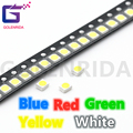 100pcs Blue Red Blue Yellow White 3528 1210 SMD LED diodes light