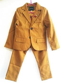 Formal Suit for Boy Single Breasted Boys Suits for Weddings Costume Enfant Garcon Mariage Boys Blazer Jogging Garcon Kids Suits