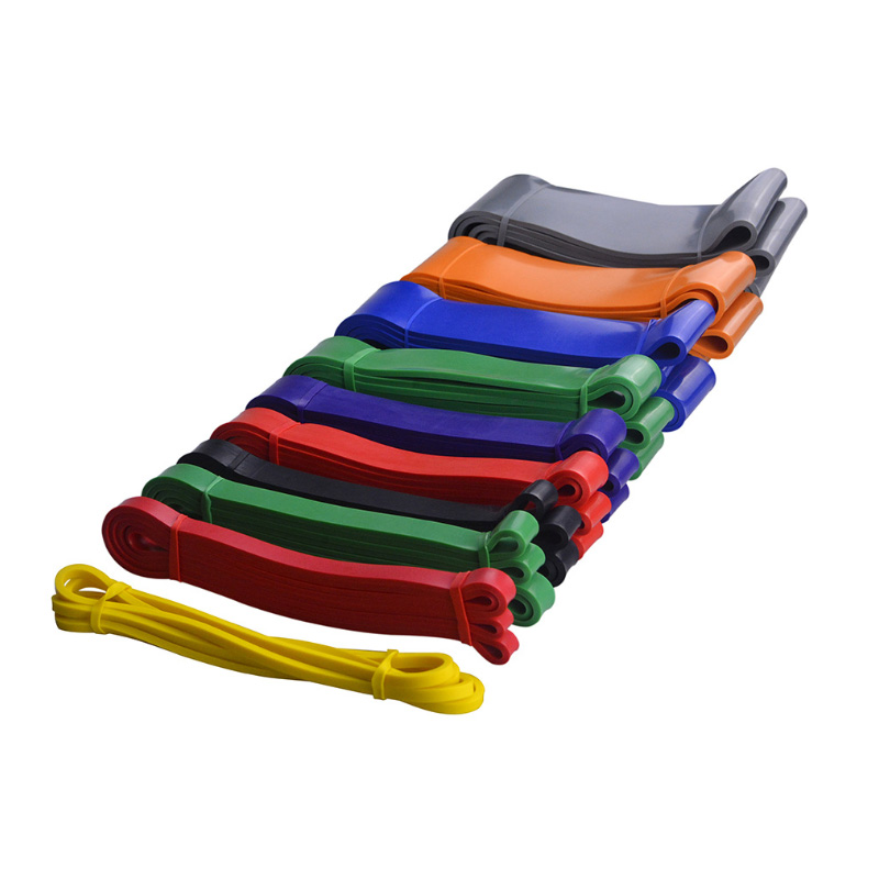 "81"" Pull Up Resistance Bands Elastic Band Rubber Loop Gym Heavy Duty Expander Strengthen Trainning Power Fitness Yoga Loop Band(China)"