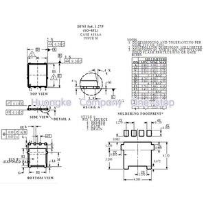 Image 4 - 5 יח\חבילה NTMFS4C09NT1G NTMFS4C09N 4C09N QFN 8 NTMFS4C06NT1G NTMFS4C06N 4C06N NTMFS4C10NT1G NTMFS4C10N סימן 4C10N MOSFET N CH