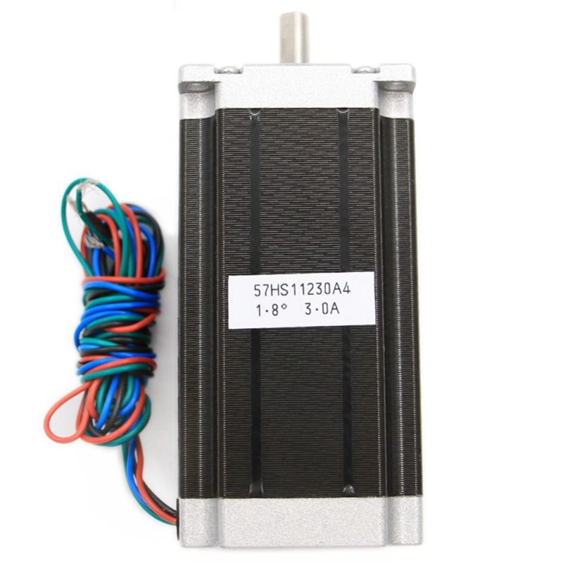 New Stepper Motor 112 X 57Mm High Torque 3.0A 3Nm Two-Phase 4-Wire Single-Axis 24V Stepper Motor