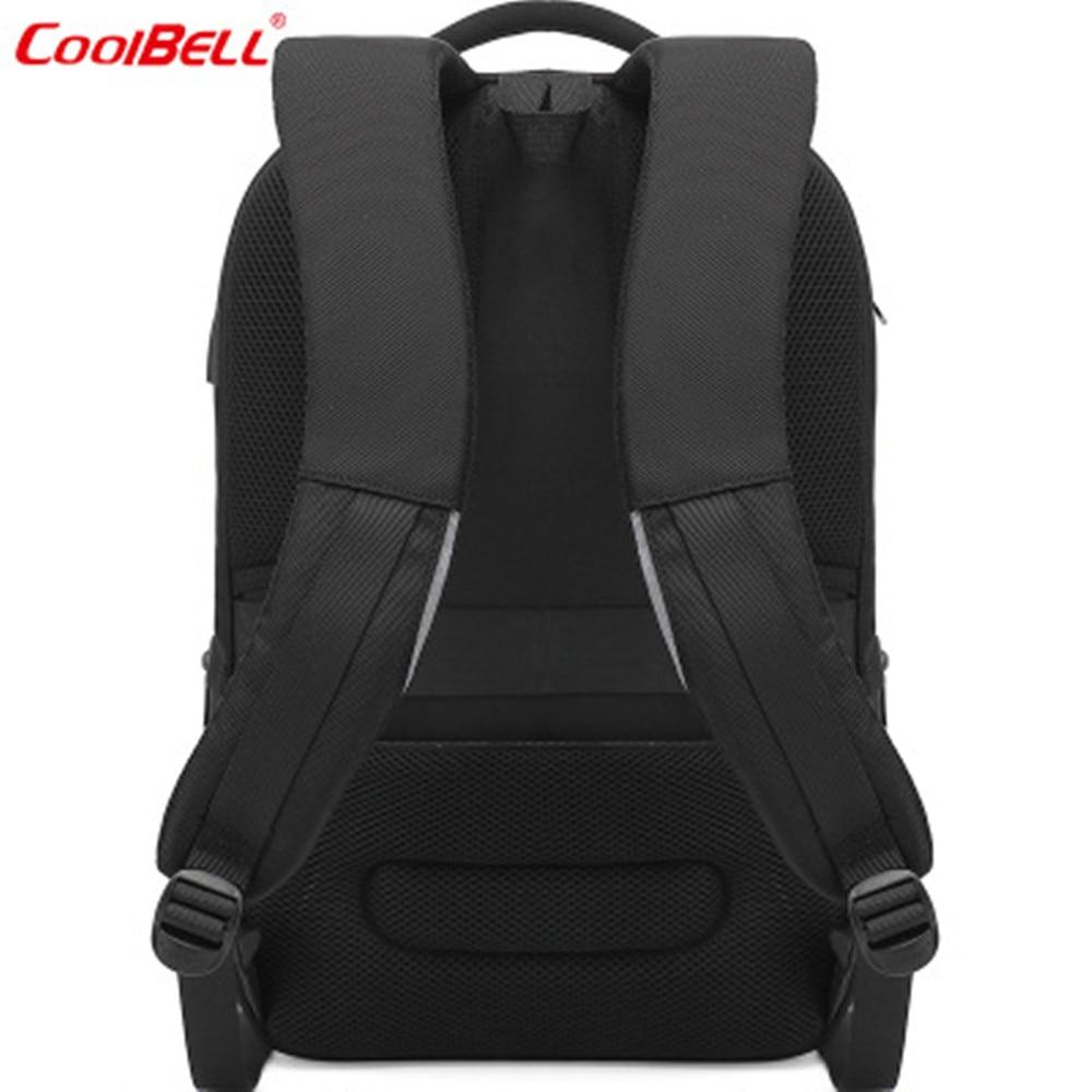 Coolbell mochila 15.6 polegada portátil mochila de