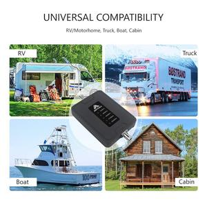 Image 5 - 2G 3G 4G Mobile Signal Booster 700/900/1800/2100/2600MHz Cell Phone Signal Repeater Amplifier LTE Repeater for RV/CAR/Boat Use