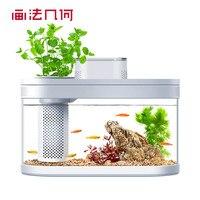 YouPin Geometry anfibio Eco Fish Tank Pro temporizzazione automatica alimentazione Wifi Smart Box funziona con Mijia Full Color Gamut Lighting
