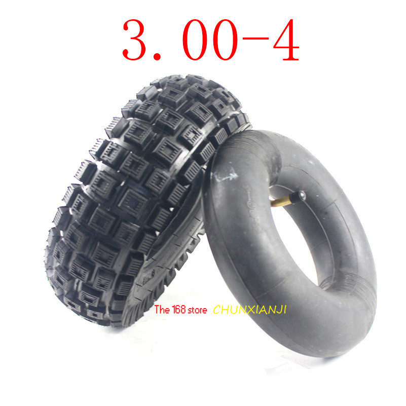 High Quality Electric Gasoline Scooter With 11-inch Road Tyre 300-4 Tube Tyre 3.00-4 Tyre  Inner Tube