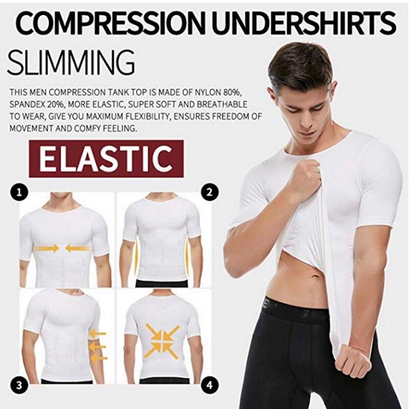 SecondSkin Men's Shaper Cooling T-Shirt 5