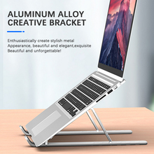 Notebook Stand Foldable  for MacBook Air Pro Laptop Stand Bracket for 7-15.6 Inch Desktop Aluminum Notebook Holder Tablet Stand