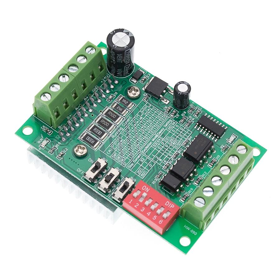 10pcs/lot TB6560 3A stepper motor driver stepper motor driver board axis current controller 10 files