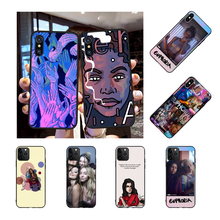 NBDRUICAI American TV Series Euphoria DIY Printing Phone Case cover Shell for iPhone 11 pro XS MAX 8 7 6 6S Plus X 5S SE XR case nbdruicai american tv series shadowhunters black soft shell phone case for iphone 11 pro xs max 8 7 6 6s plus x 5s se xr case