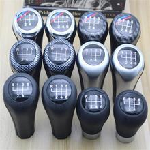 Para BMW 1 3 5 6 serie E30 E32 E34 E36 E38 E39 E46 E53 E60 E63 E83 E84 E90 e91 coche-estilo 5 velocidad Gear palanca de mando