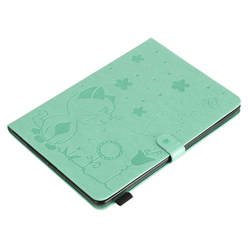 A2232-Cover-Case Cover A2200 7th-Generation Cat Cartoon Embossing Apple for A2198 iPad