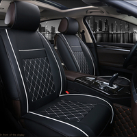 Car Accessories Car Front Seat Cover Breathable PU Leather Pad Cushion Cushion Protection Car Interior Supplies Universal