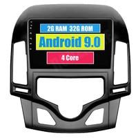 For Hyundai I30 2006 2007 2008 2009 2010 2011 Android 9.1 Car Radio Stereo GPS Navigation Autoradio Bluetooth Head Unit Screen