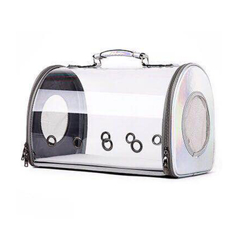 Window Cat Carrier Backpack Space Capsule Transparent Pet Bag Large Cat Travel Box Bolso Para Gato Fashion Pet Products KK60MX