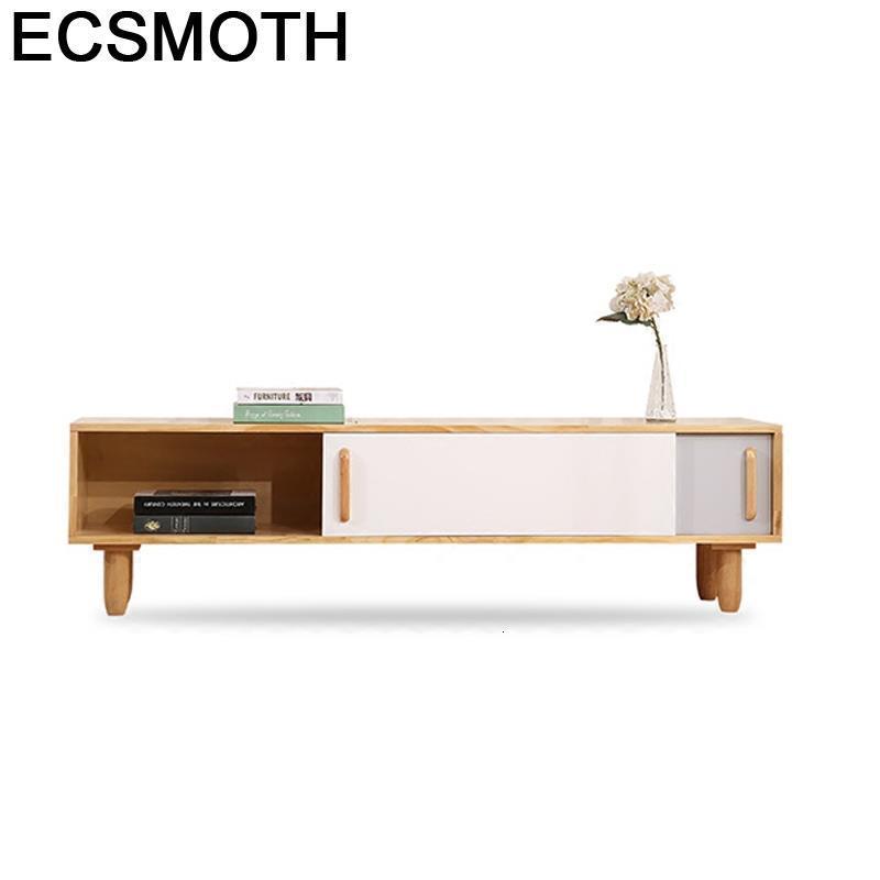 Lemari Soporte China Lcd Sehpasi Painel Para Madeira Nordic European Wood Living Room Furniture Monitor Mueble Meuble Tv Stand