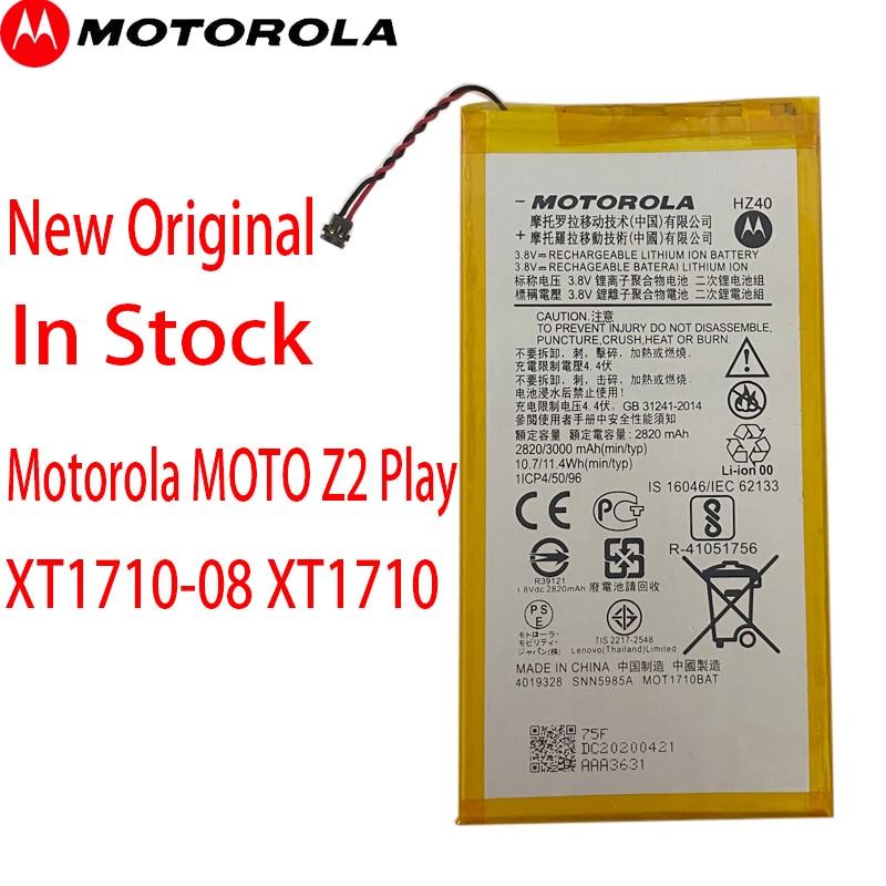 Original Motorola MOTO Z2 Play XT1710-08 XT1710 XT1710-06 XT1710-09 XT1710-11 HZ40 3000mAh Phone Battery+Tracking number