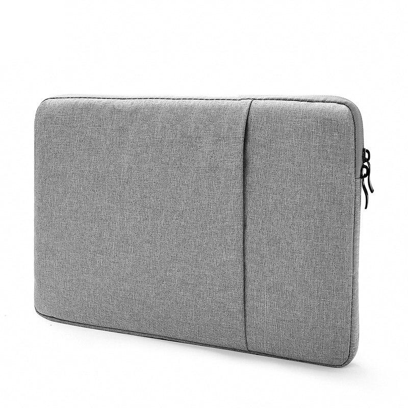 Laptop çantası 15.6 14 13 11 inç su geçirmez Laptop kol çantası kapak MacBook Air 13 için kılıf Notebook çantası